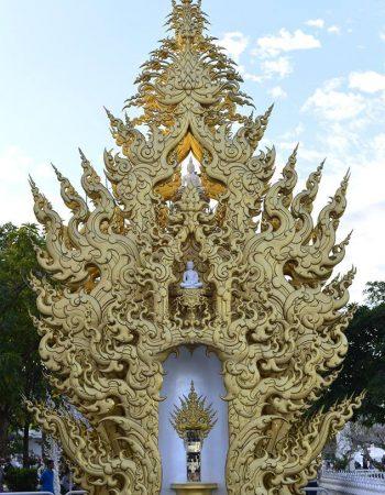 Wat Rong Khun (The White temple) Chiang Rai