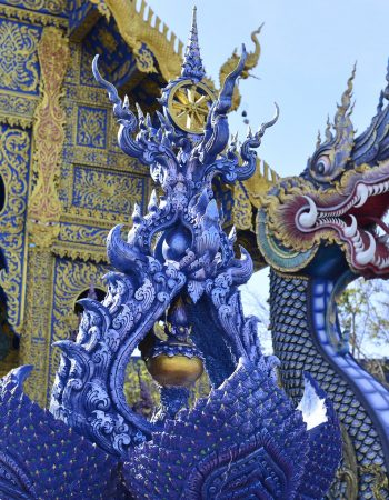 Wat Rong Suea Ten (The Blue Temple) Chiang Rai