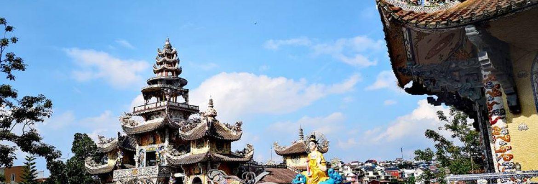 วัด Linh Phước – วัดมังกรสีพาสเทลหวานๆแห่งเมืองดาลัต