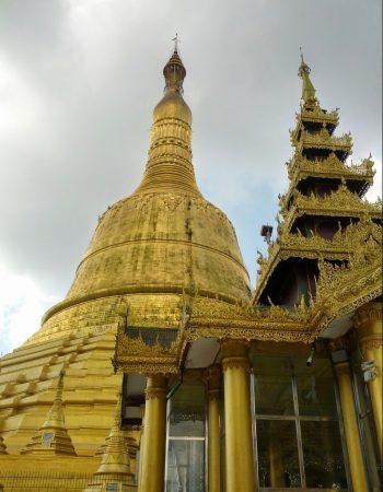 Shwemawdaw Pagoda  เจดีย์ชเว-มอดอร์ หรือ พระธาตุมุเตา