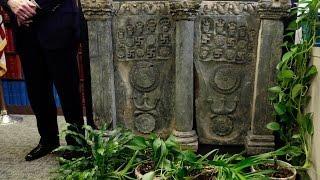 Raw: Ancient Buddhist Art Returned to Pakistan
