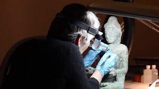 Video: Conserving Buddhist Art of Myanmar