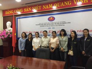 ศูนย์อาเซียนศึกษาลงพื้นที่ศึกษาวิถีชีวิตชาวเวียดนามและเก็บข้อมูลการทำวิจัยระหว่างประเทศ