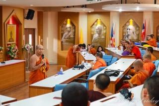 ชมรม E-Tech คณะครุศาสตร์ สาขาการสอนภาษาอังกฤษ ร่วมกับศูนย์อาเซียนศึกษาจัดกิจกรรมแข่งขันการประกวดสุนทรพจน์ภาษาอังกฤษ ในหัวข้อ The Buddhist Way to peace of mind